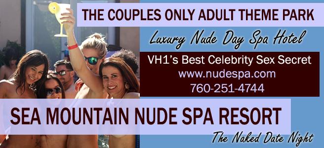 Sea Mountain Nude Lifestyles Spa Resort Hotel 760-251-4744